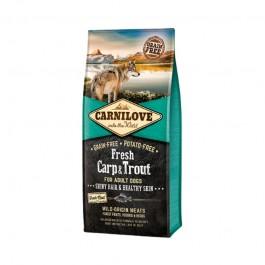 Carnilove Fresh Adult Dog Sterilised Carpa e Trota