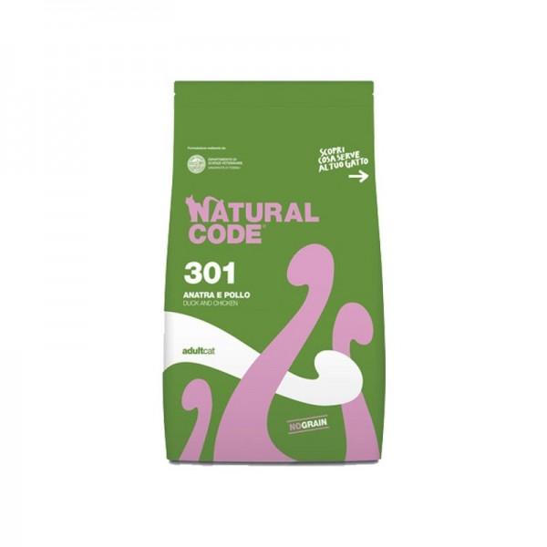 Natural Code Adult Cat Anatra e Pollo