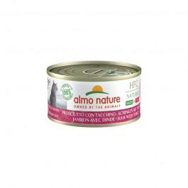 Almo Nature Cat HFC Natural Made in Italy Prosciutto con Tacchino