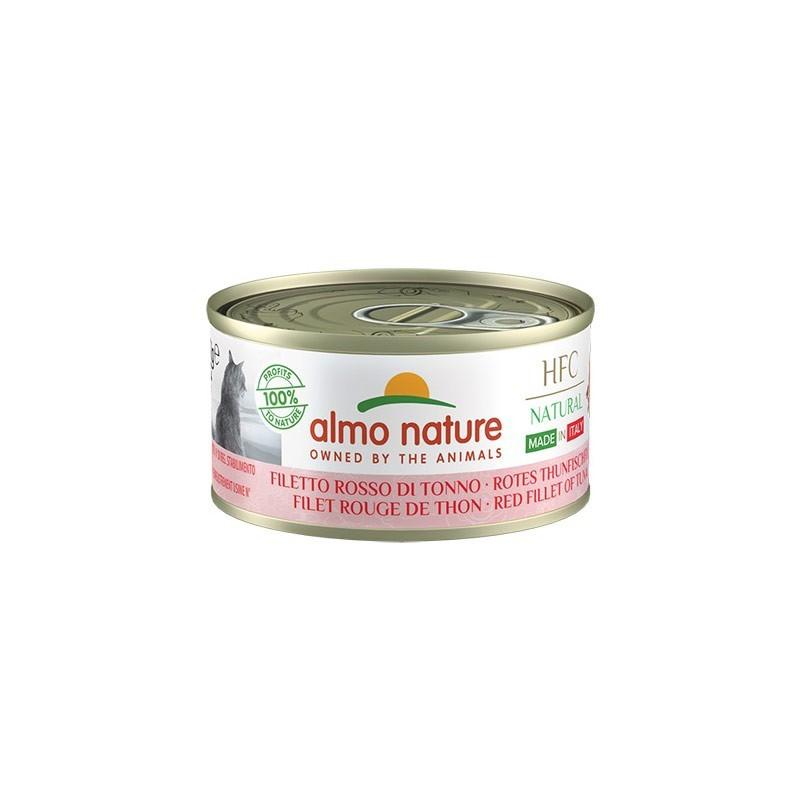 Almo Nature Cat HFC Natural Made in Italy Filetto Rosso di Tonno