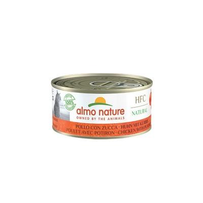 Almo Nature Cat HFC Natural Pollo con Zucca