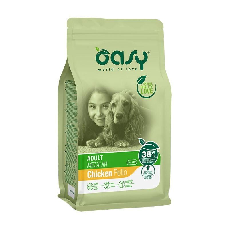 Oasy Adult Medium al Pollo