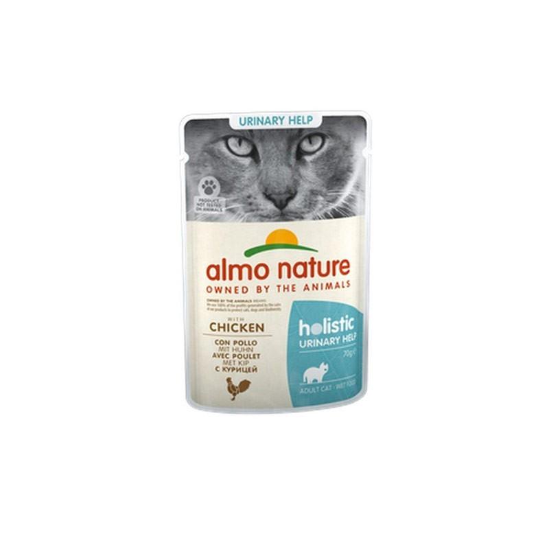 Almo Nature Cat Holistic Urinary Help con Pollo