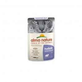 Almo Nature Cat Holistic Digestive Help con Pesce
