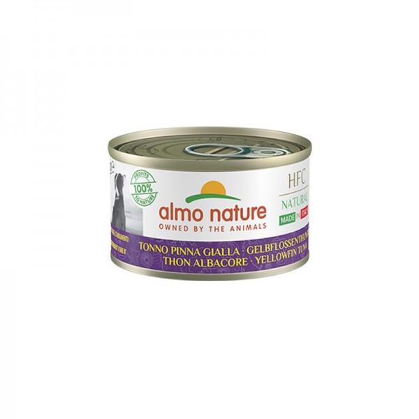 Almo Nature Dog HFC Natural Made in Italy Tonno Pinna Gialla