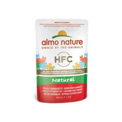 Almo Nature Cat HFC Natural Pollo e Gamberetti