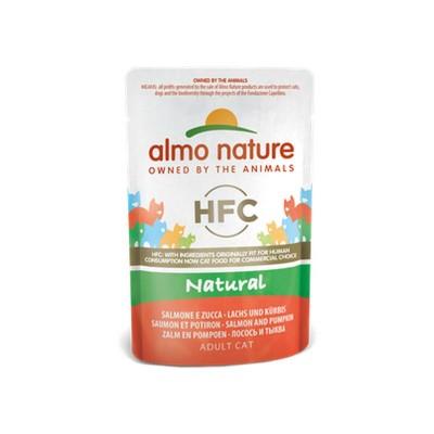 Almo Nature Cat HFC Natural Salmone e Zucca