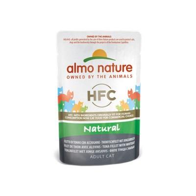 Almo Nature Cat HFC Natural Filetto di Tonno con Acciughine