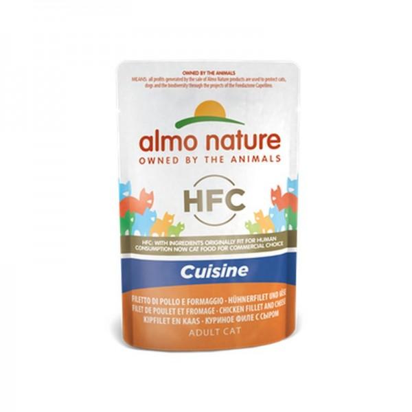 Almo Nature Cat HFC Cuisine Filetto di Pollo e Formaggio