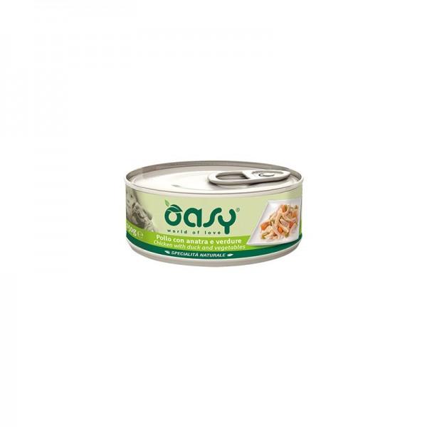 Oasy Pollo con Anatra e Verdure per Cani 150gr