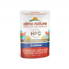 Almo Nature Cat HFC Cuisine Filetto di Pollo e Surimi