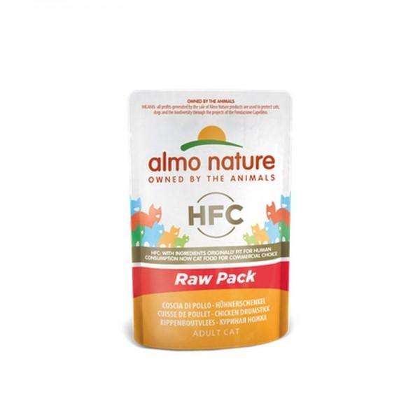 Almo Nature Cat HFC Raw Pack Coscia di Pollo