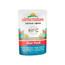 Almo Nature Cat HFC Raw Pack Filetto di Tonno Tonggol