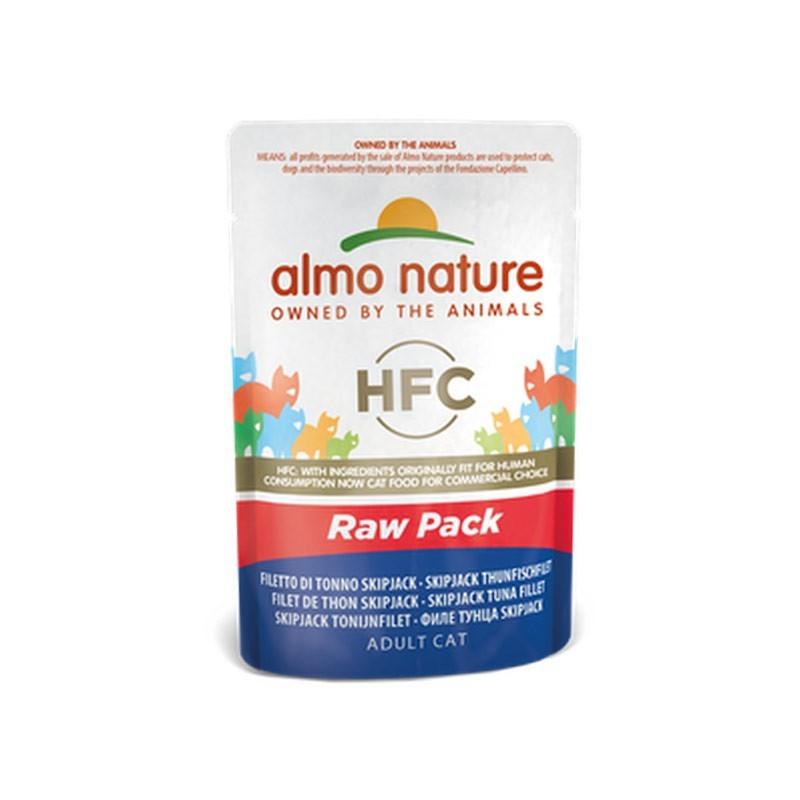 Almo Nature Cat HFC Raw Pack Filetto di Tonno Skipjack