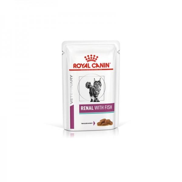 Royal Canin V-Diet Renal Gatto al Pesce Busta