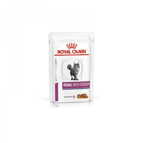 Royal Canin V-Diet Renal Gatto al Pollo Busta