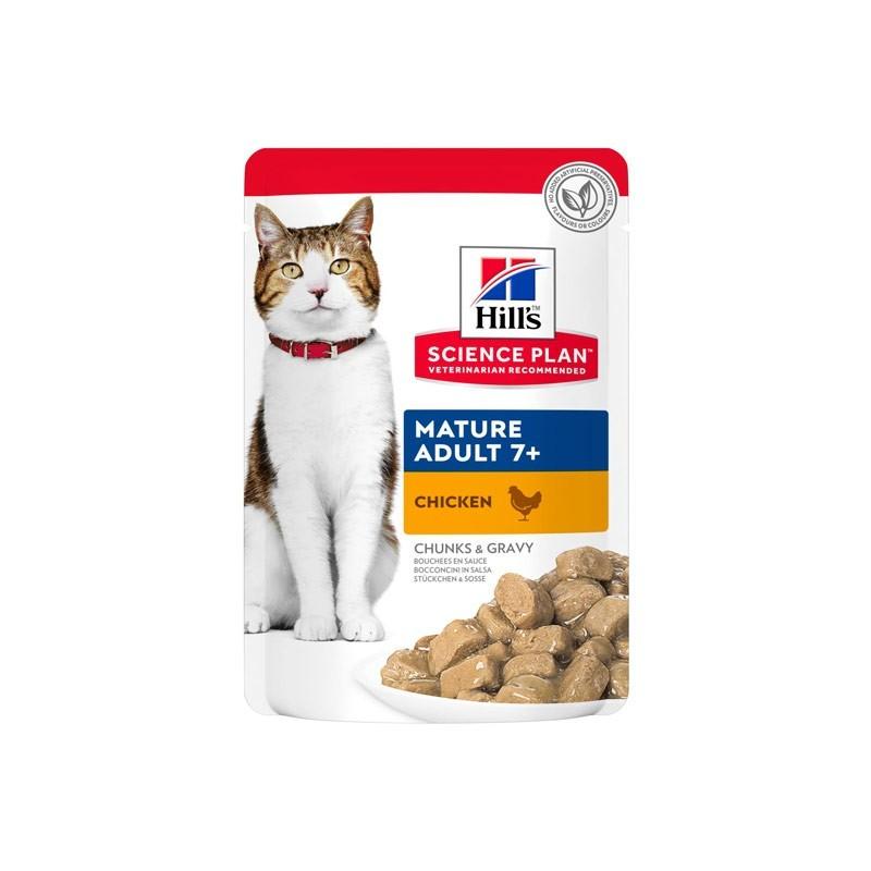 Hill's Science Plan Feline Mature Adult con Pollo in Busta