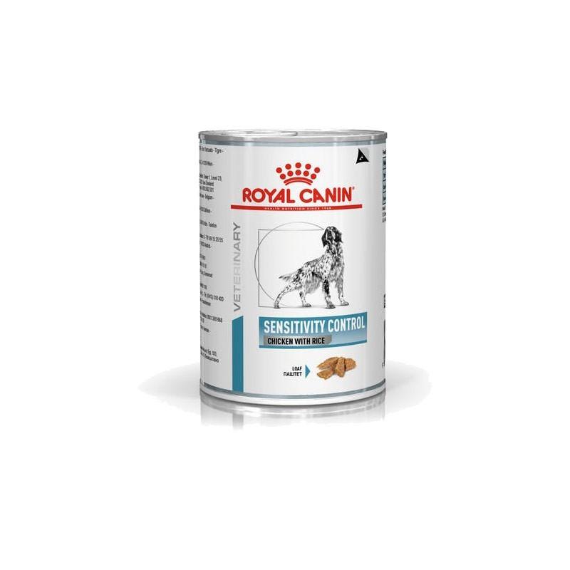 Royal Canin Cane V-Diet Sensitivity Control Umido con Pollo