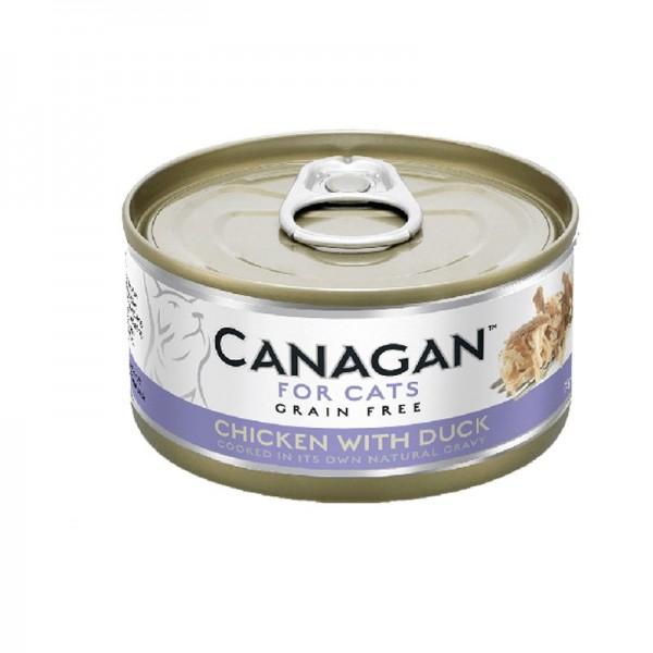 Canagan Pollo con Anatra Umido per Gatti