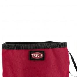 Trixie Ciotola da Viaggio in Nylon Rossa