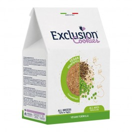 Exclusion Cookies Vegan All Breeds Canapa e Piselli per Cani