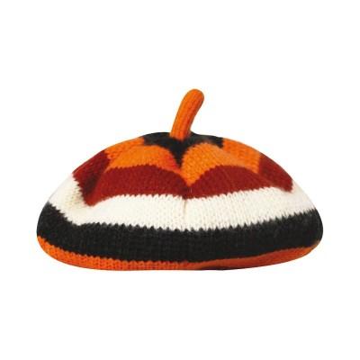 Croci Cappello Beret Arancio