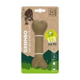 M-Pets Osso Greenbo Natural Rubber Bone in Gomma Naturale