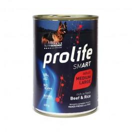 Prolife Dog Smart Adult Medium/Large Manzo e Riso