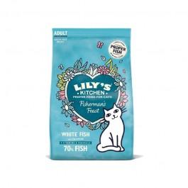 Lily's Kitchen Fisherman's Feast con Pesce Bianco e Salmone per Gatti