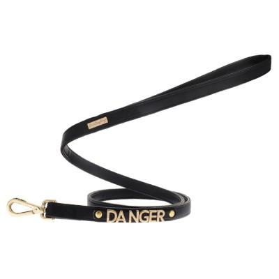Ferribiella Le DangeRouge Guinzaglio Danger Nero Per Cani
