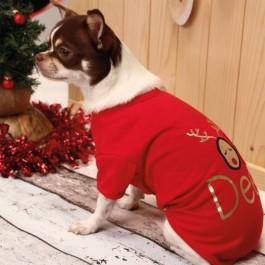 Croci T-Shirt XMas Oh Deer Per Cani