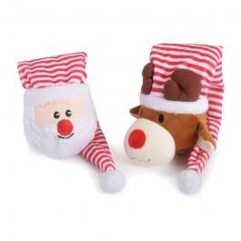 Camon Peluche Babbo Natale e Renna