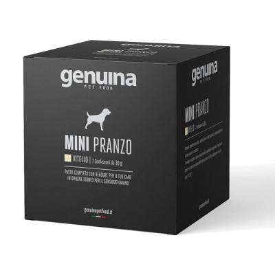 Genuina Natural Pet Food Box Mini Pranzo Manzo