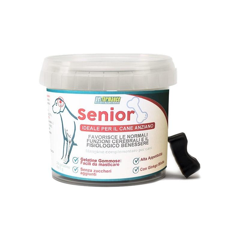 Petformance Senior Gelatine Gommose per Cani Anziani