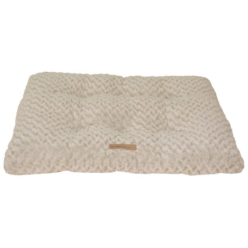 M-Pets Shetland Cushion Materasso in Peluche Beige