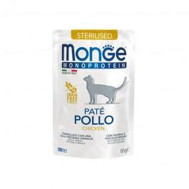 Monge Cat Sterilised Monoprotein Paté Pollo per Gatti