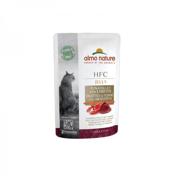 Almo Nature Cat HFC Jelly Filetto di Tonno con Aragosta