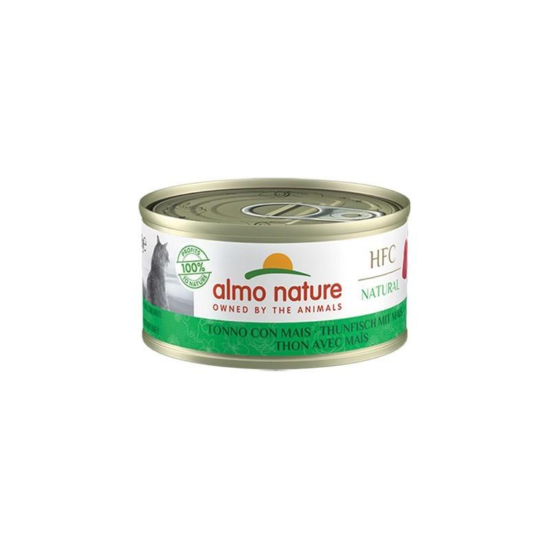 Almo Nature Cat HFC Natural Tonno con Mais per Gatti 70gr