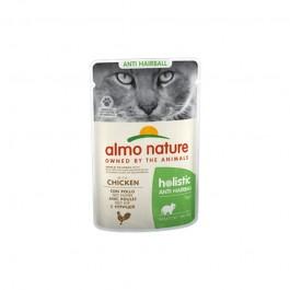 Almo Nature Cat Holistic Anti Hairball con Pollo per Gatti 70gr