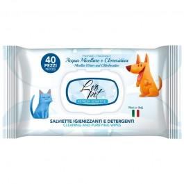 LeoPet Salviette Igienizzanti Acqua Micellare e Clorexidina