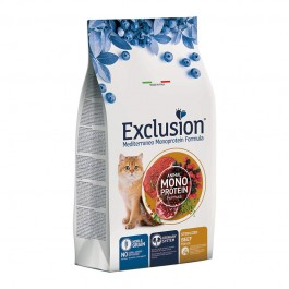 Exclusion Cat Mediterraneo Noble Grain Sterilized al Manzo