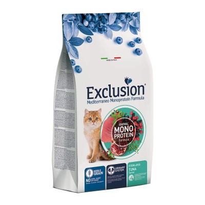 Exclusion Cat Mediterraneo Noble Grain Sterilized al Tonno
