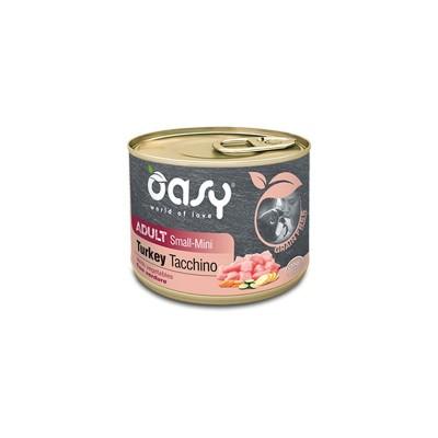 Oasy Grain Free Adult Small Mini Tacchino