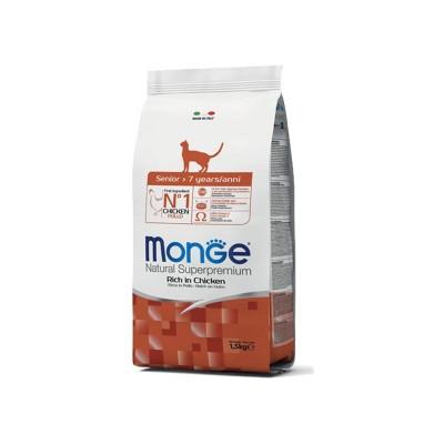 Monge Cat Senior Pollo