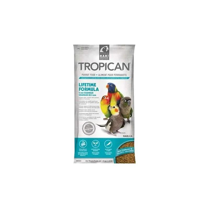 Hari Tropican Lifetime Formula 2mm per Pappagalli