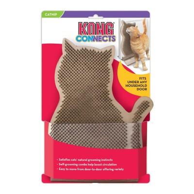 KONG Connects Kitty Comber Spazzola/Gioco per Gatti