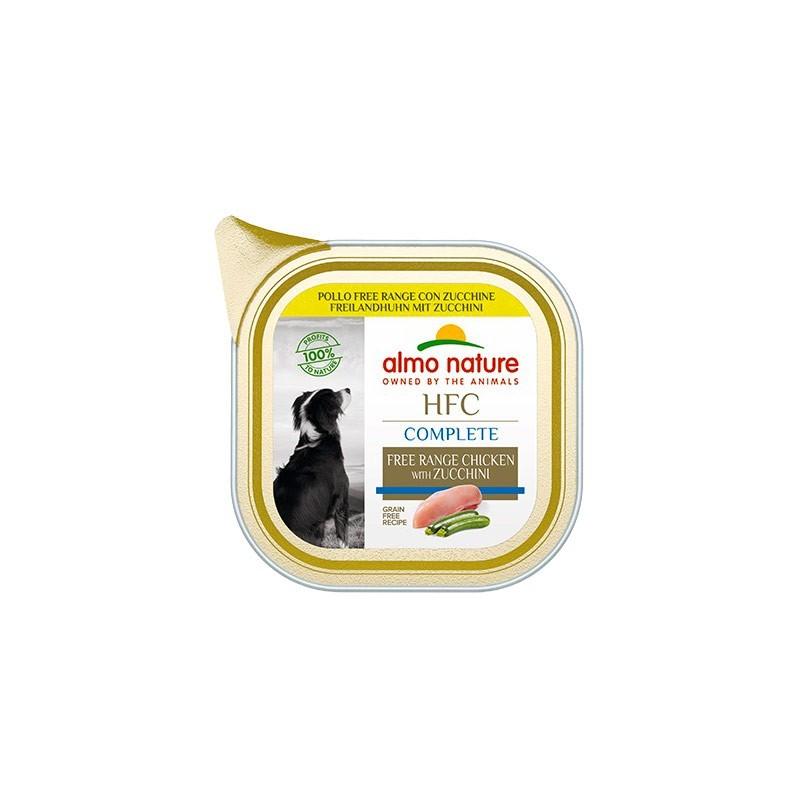 Almo Nature Dog HFC Complete Pollo Free Range con Zuchine