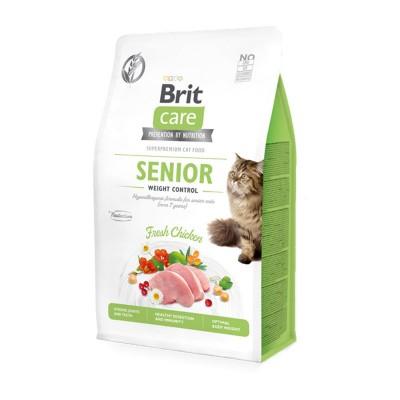 Brit Care Grain Free Pollo Fresco Senior per Gatti