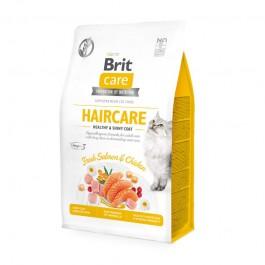 Brit Care Haircare Salmone Fresco e Pollo Adult Grain Free per Gatti
