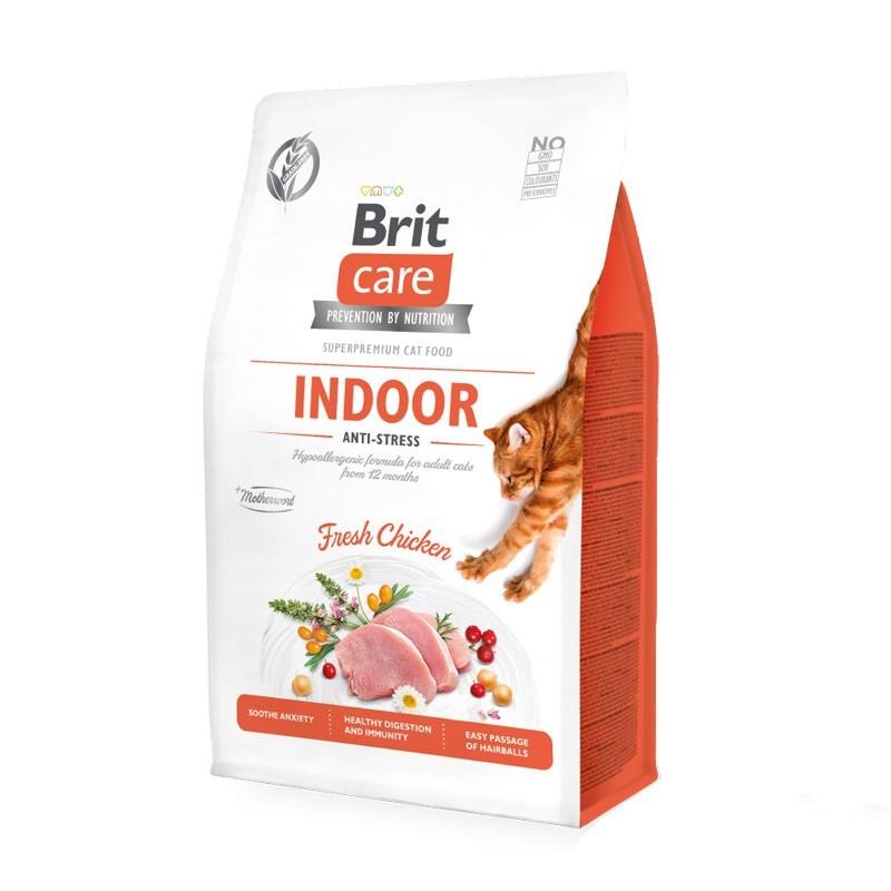 Brit Care Indoor Pollo Fresco Grain Free per Gatti